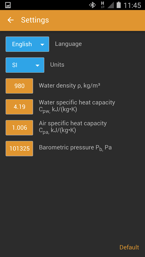 HVAC Calculator Pro Screenshot 6