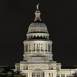 Austin TX Capitol  by Allen Skinner - Buildings & Architecture Public & Historical ( austin texas )