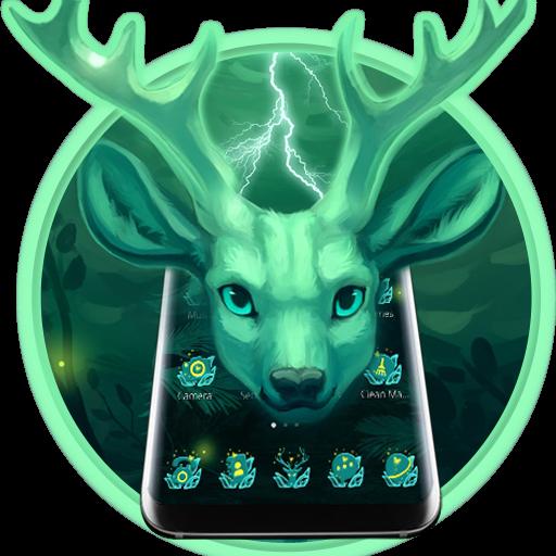 Forest Deer Spirit Theme (app)