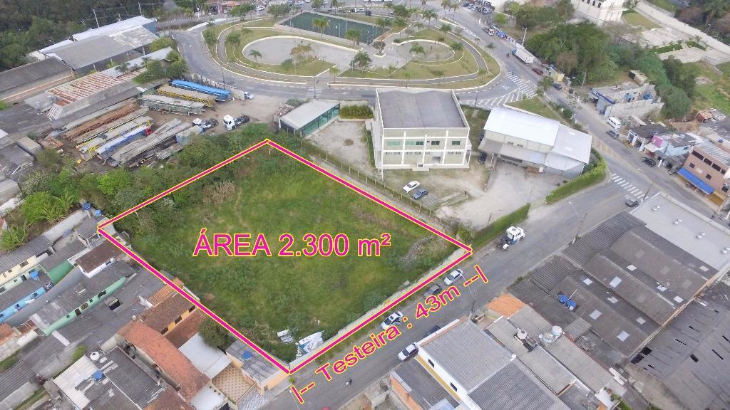 Terreno de 2300m² em São Bernardo do Campo.