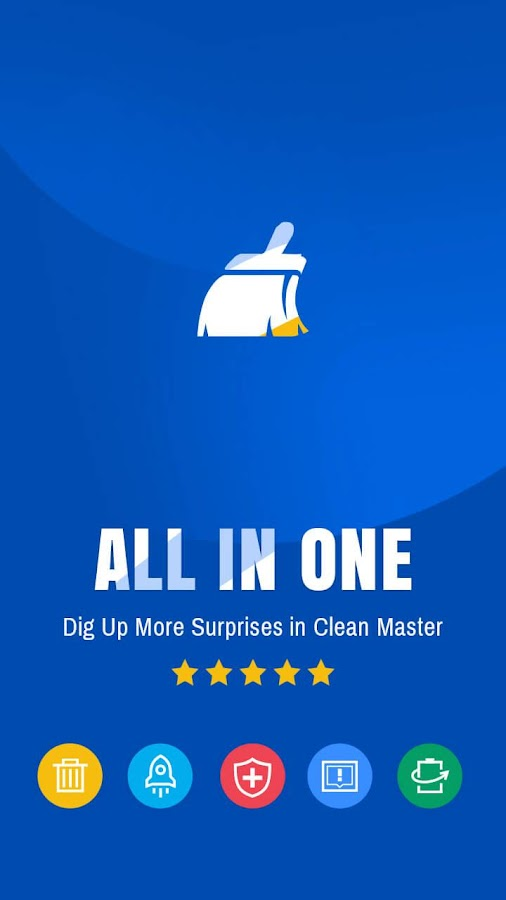 Clean Master-Free Ram, Space Cleaner & Antivirus Screenshot 7