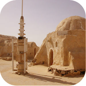 Tatooine Desert Wallpaper