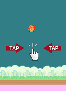 Flappy Trump - screenshot