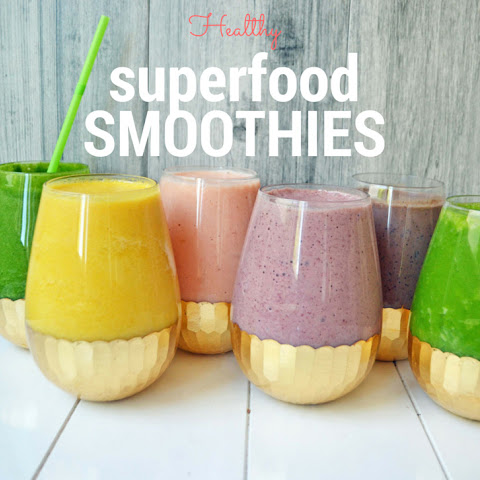6 Superfood Smoothies