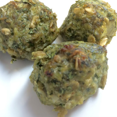 Cauliflower, Spinach and Turkey Meatballs