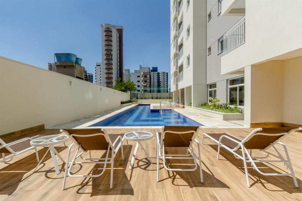 Apartamento com 2 dormitórios para alugar, 75 m² por R$ 1.800/mês - Vila Bastos - Santo André/SP
