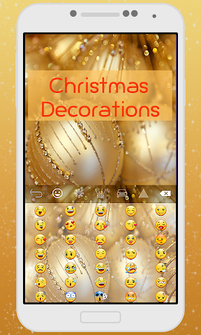 android Decorations Keyboard Theme Screenshot 1