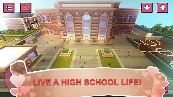 High School Crush Craft: Love Story & Dress Up Sim