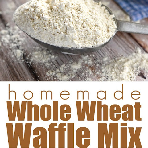 Homemade Whole Wheat Waffle Mix