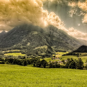 by Ralf  Harimau - Landscapes Mountains & Hills ( deutschland, bavaria, oberbayern, 2015, deutsche alpenstrasse, bayern, germany, juli, #GARYFONGDRAMATICLIGHT, #WTFBOBDAVIS )