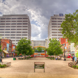 Knoxville Market Square by JERry RYan - City,  Street & Park  Markets & Shops