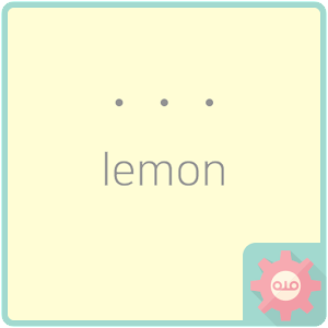 simple dot - lemon ???? ??