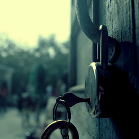 One Lock Thousand Answers by Arpan Sagar - Novices Only Objects & Still Life