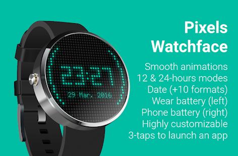 Pixels Watch Face (Donate)