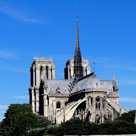 Noire Dame, Paris by Philippe Smith-Smith - Buildings & Architecture Places of Worship ( paris, church, cathedral, architecture, worship )