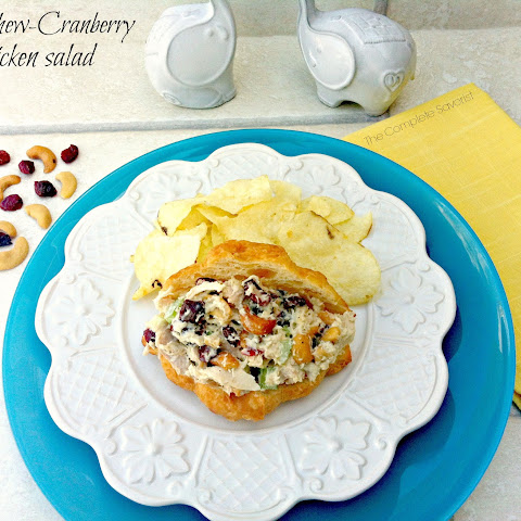 Cashew-Cranberry Chicken Salad Sandwiches