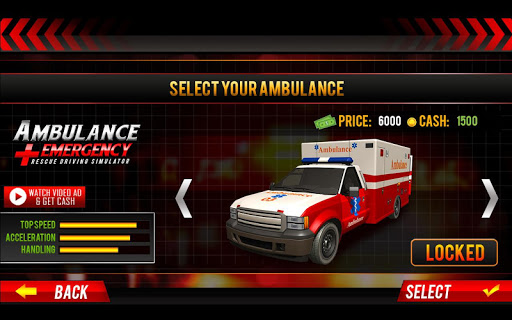 911 Ambulance City Rescue: Emergency Driving Game For PC
