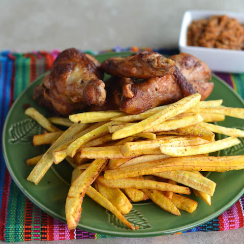 African Fried Chicken & Plantain Fries
