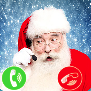 A Santa Claus Call And Gift Text For PC