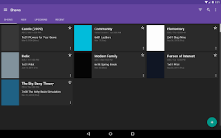 Screenshot of SeriesGuide