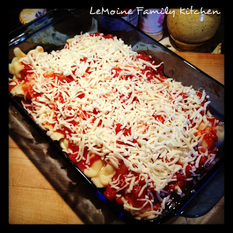 Quick & Easy Baked Ravioli
