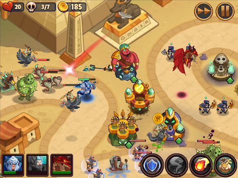 Realm Defense: Fun Tower Game APK screenshot thumbnail 7