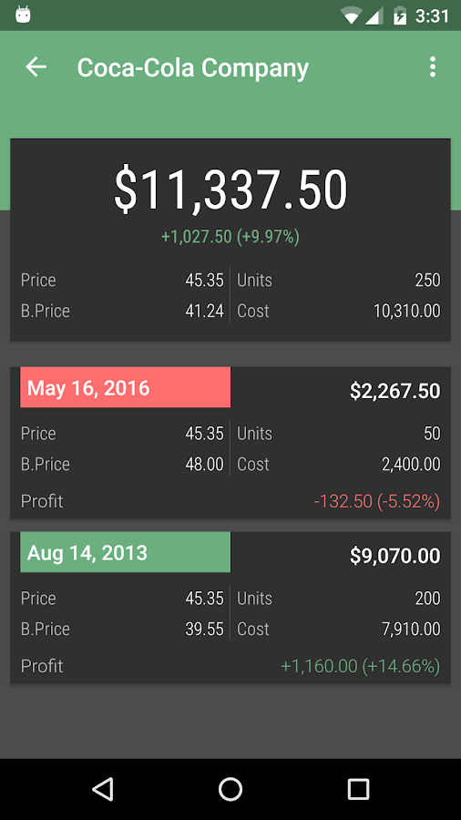 JStock Android - Stock Market Screenshot 5