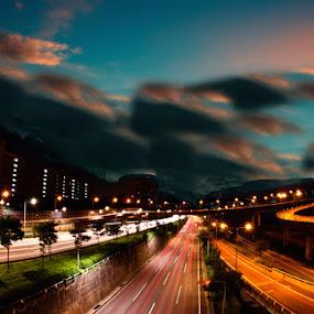 by Ryo SiNaga - City,  Street & Park  Skylines