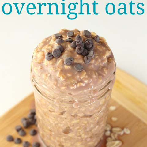 Banana Chocolate Overnight Oats Recipe for Busy School Mornings
