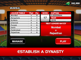 Screenshot of Stick Cricket Premier League