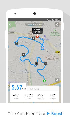 Pedometer, Step Counter & Weight Loss Tracker App screenshot 2