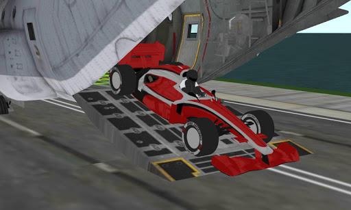 formula racing car cargo plane For PC