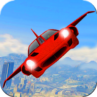 Futuristic Flying Car Ultimate For PC (Windows And Mac)