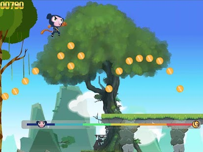 Kung Fu Monkey Run- screenshot thumbnail