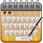 Notepad Keyboard Theme Icon