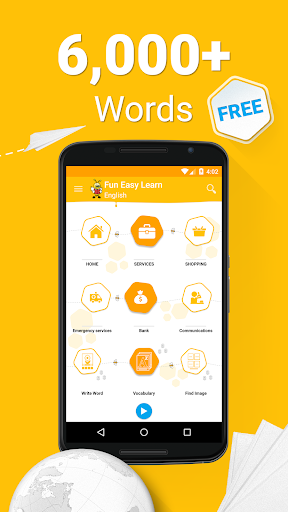 Learn English Vocabulary - 6,000 Words screenshot 1