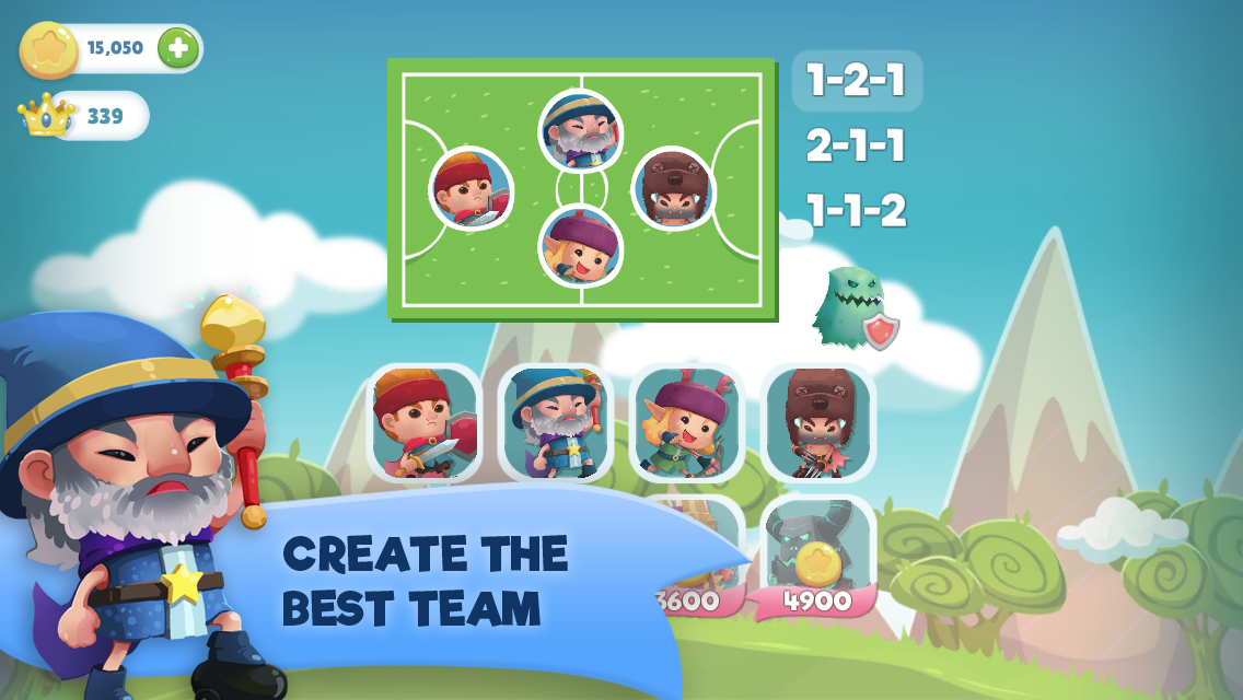 WIF Soccer Battles Screenshot 10
