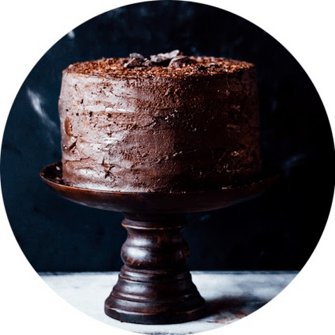 Double Dark Chocolate Cake