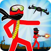 Game Stickman Army : Team Battle APK for Kindle