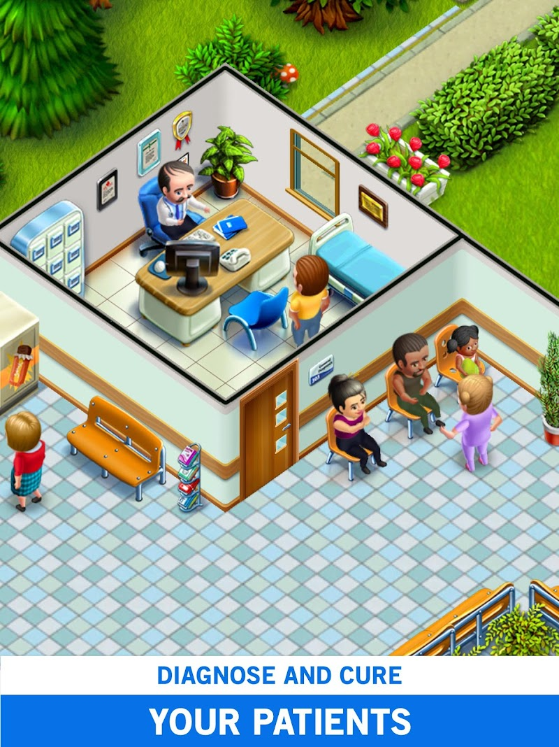 My Hospital: Build and Manage Screenshot 6