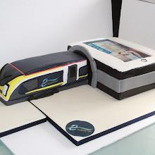 Eurostar Train Cake
