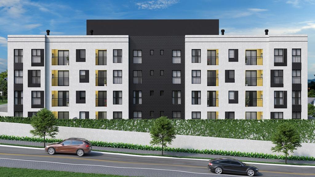 Apartamento com 3 dormitórios à venda, 56 m² por R$ 184.900 - Centro - Araucária/PR