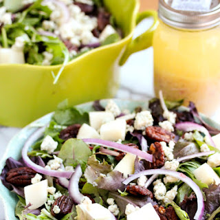 Candied Pecan Salad With Blue Cheese Recipes