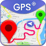 Free GPS Navigation & Maps Directions Icon