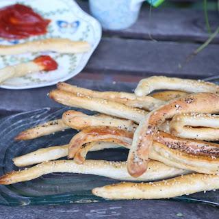 Pretzel Bread Sticks Recipes