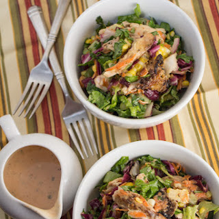 BBQ Ranch Chopped Chicken Salad