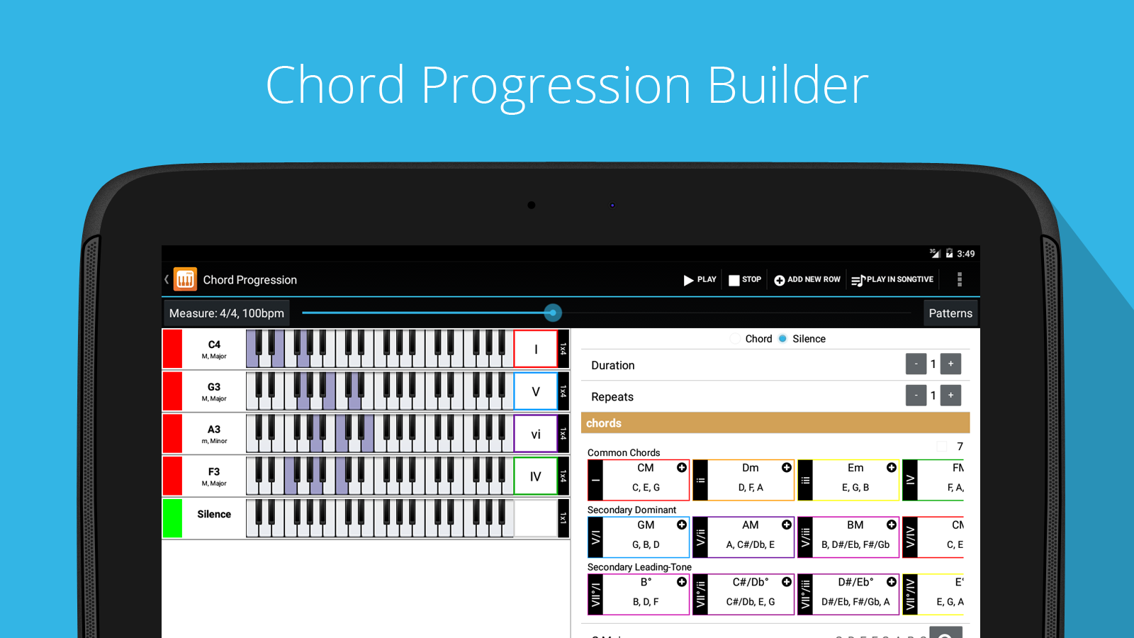 Piano Companion PRO: chord Screenshot 7