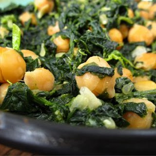 Garbanzo Beans With Spinach Recipes