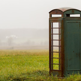 Tardis by Kevin Frick - Artistic Objects Antiques ( fog, phone booth, tardis )