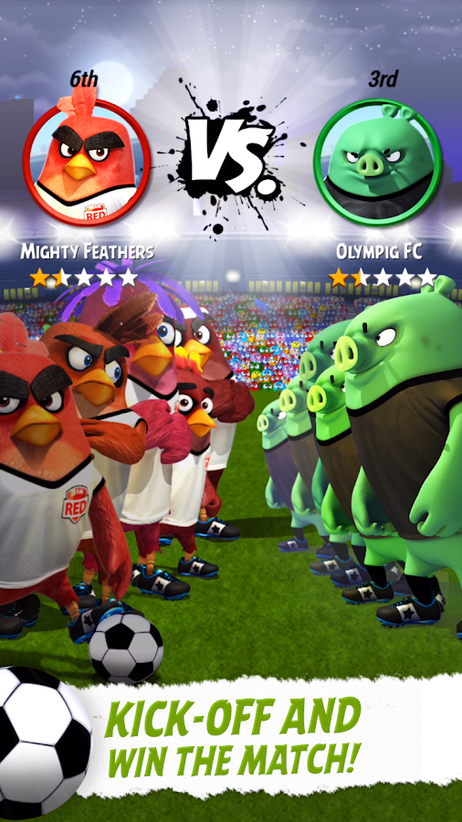 Angry Birds Goal! Screenshot 2